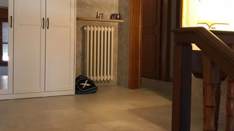 Pavimenti e arredo bagno di una Villa a Forlì