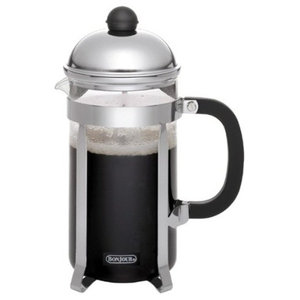 Coffee 8-Cup Monet French Press, Stainless Steel