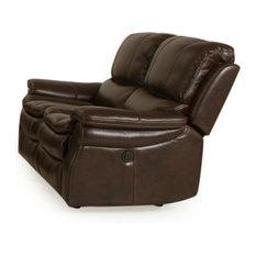 parker house parker house juno dual power recliner loveseat nutmeg loveseats