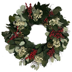 Contemporary Wreaths And Garlands by Botanical Splash