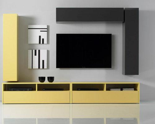 Stupendous Modern Wall Units Inspirational Interior Design Netriciaus