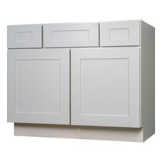 White Bathroom Sink Cabinets single sink bathroom vanities | houzz