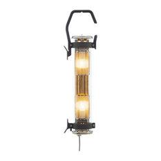Balke Outdoor Hanging Light, Coal/Copper