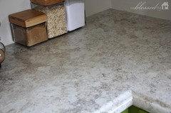 Formica crema mascarello or wilsonart spring carnival for Wilsonart laminate cost per square foot