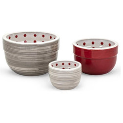 Contemporary Mixing Bowls by ShopLadder