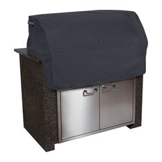 Ravenna Patio Built In BBQ Grill Top Cover, Black, Medium