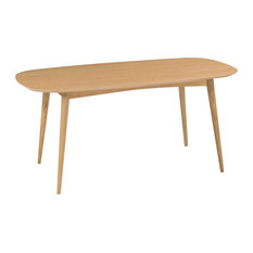 Oslo Oak Furniture 6-Seater Dining Table