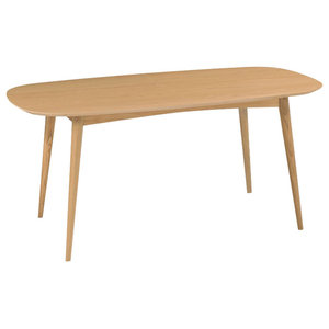 Oslo Oak Furniture 6-Seater Dining Table