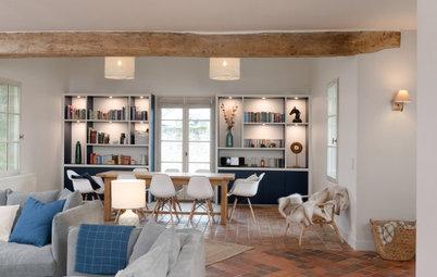 Visite Privée : Rénovation harmonieuse d'une maison de famille
