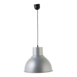 Small Industrial Pendant Lamp, Grey