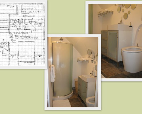 4'x7′ Bathroom Designs