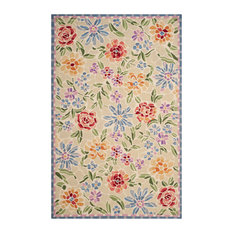 """Safavieh Chelsea Collection HK214 Rug, Ivory, 8'9""""x11'9"""""""