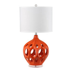 29 in. Regina Table Lamp in Orange