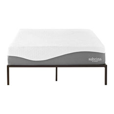 "LexMod - Sabrina 12"" King Natural Latex and Gel Memory Foam Mattress - Mattresses"
