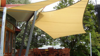 Custom Sail Shade Installation