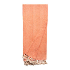 Duke Blanket Throw, Orange