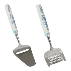 Delft Cheese Slicer and Grater Set