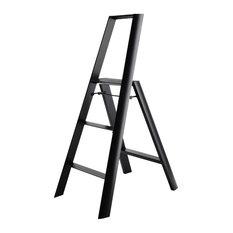 Perigot Small Folding Step Ladder, Black
