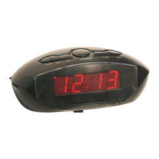 shop clock radio products on houzz. Black Bedroom Furniture Sets. Home Design Ideas
