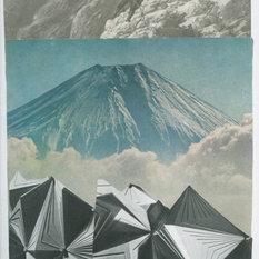 - Et udpluk af mine collager - Kunstprint