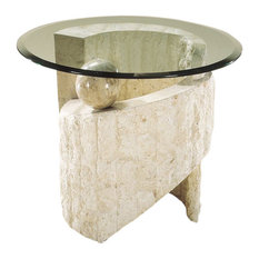 Magnussen Home Furnishing   Magnussen Ponte Vedra Round End Table   Side  Tables And End Tables