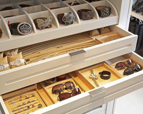 Custom Jewelry Drawers   Houzz