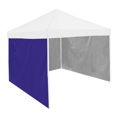 Plain Purple Tent Side Panel