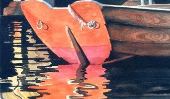 Inspiration till mina salta akvareller