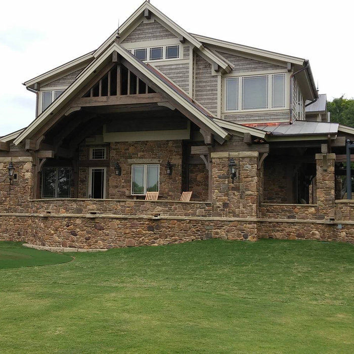 Private Golf Clubhouse