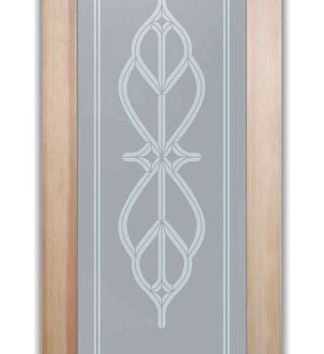 Bathroom Doors Interior Gl Frosted Faux Bevels I