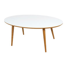 Essai Elipsa Coffee Table, White