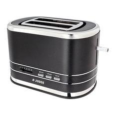 Judge Satin Black 2 Slice Toaster