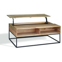 Jacob Industrial Lift-Top Coffee Table