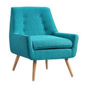 """Trelis Chair, Bright Blue, 27.5""""x30.75""""x32.25"""""""