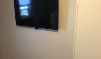 Tv mount installation