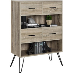 Midcentury Bookcases by Dorel Home Furnishings, Inc.