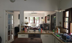 Hamptons Style Kitchen renovation - before photos