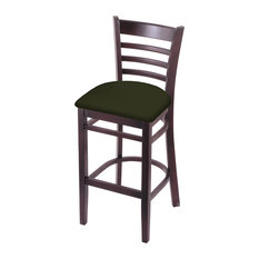 3140 25-inch Counter Stool With Dark Cherry And Canter Pine Seat