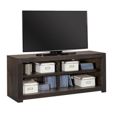 Aspenhome Avery Loft DY1022-GHT 60-inch Open Console Ghost Black