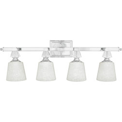 Best Transitional Bathroom Vanity Lighting by Quoizel