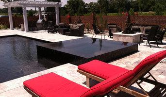 Vinyl liner to concrete pool conversion.