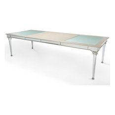 AICO   AICO Bel Air Park 4 Leg Dining Table In Champagne   Dining Tables