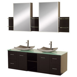 Simple Modern Bathroom Vanities And Sink Consoles by Luxvanity