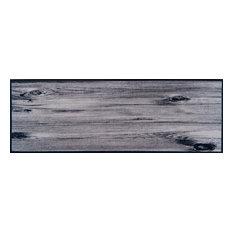 Easy Clean Wooden Knots Doormat, Large