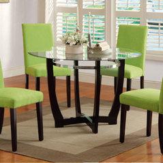 Glass Top Dining Set