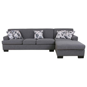 Peachy Gus Sectional Sofa With Tufts Storage And Pull Out Bed Pabps2019 Chair Design Images Pabps2019Com