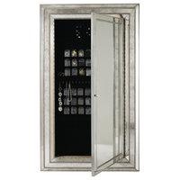 Melange Glamour Floor Mirror With Jewelry Armoire Storage