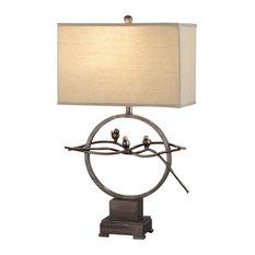 Bird Table Lamp: Crestview Collection - Song Bird Table Lamp - Table Lamps,Lighting