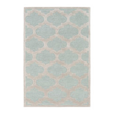 Artistic Weavers - Transitional 8'x11' Blue Area Rug - Area Rugs