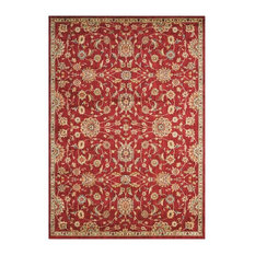 Ancient Times Ancient Treasures Red Area Rug